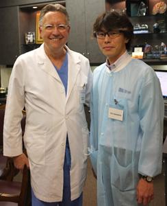 2012年 Dr.M.マグアイヤー元A.A.P.会長 (JPHIJ・ヒューストンにて)
